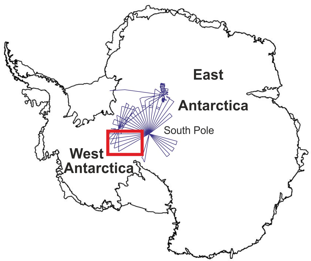 Subglacial Valleys And Mountain Ranges Discovered Near