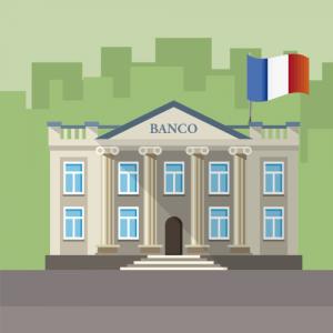 banca francia en social media