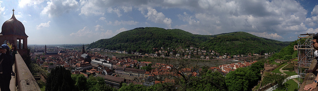 A panorama photograph of Heidelberg. Image: Coolgarriv, via Flickr.