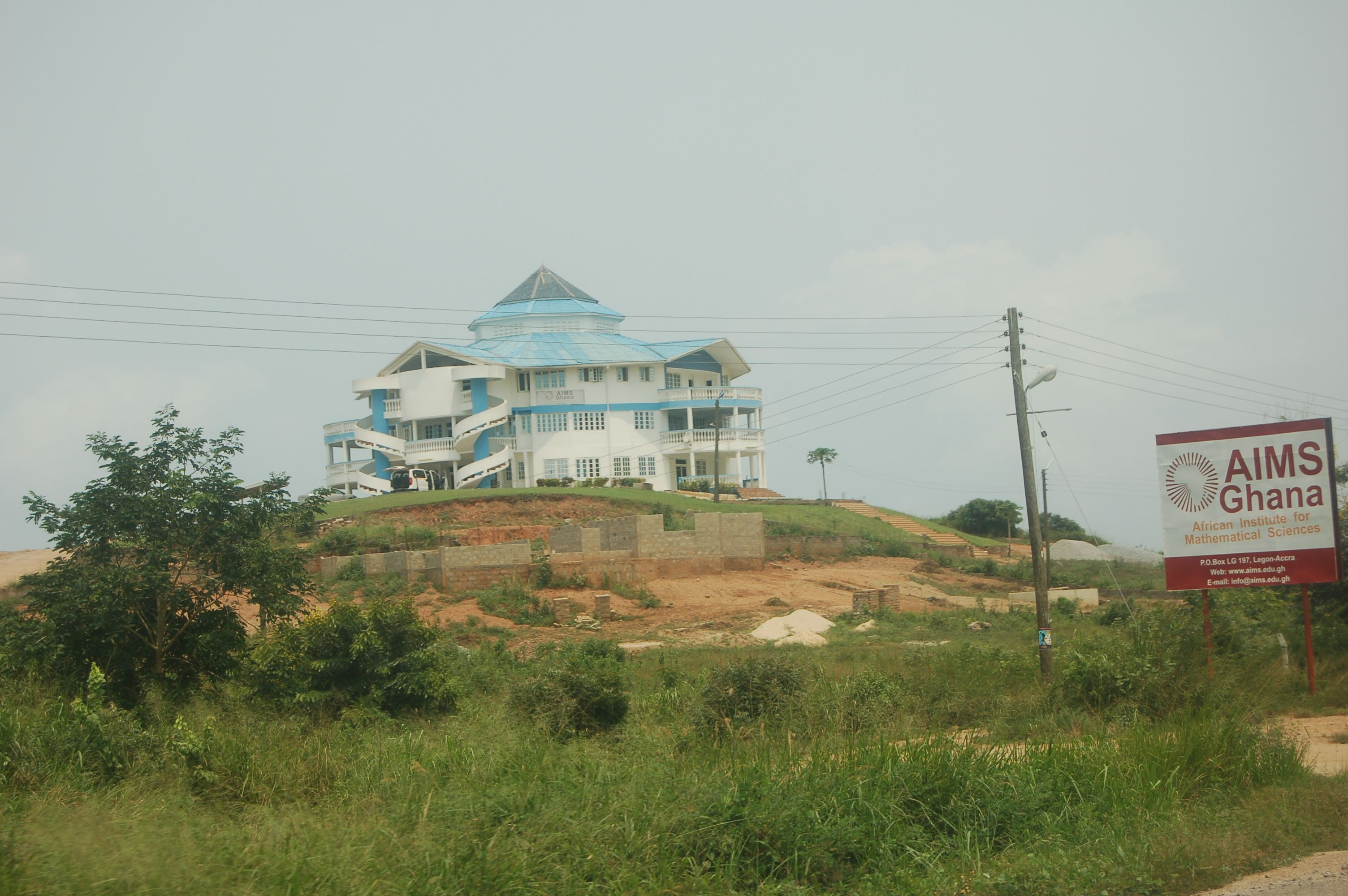 Number theory the african queen phd epsilon aims ghana you cant see from here but the institute sits on a hill overlooking a dramatic coastline best beach resort ever with great ocean views and publicscrutiny Images
