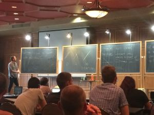 Dagan Karp and enumerative geometry.