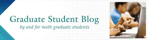 Graduate Student Blog