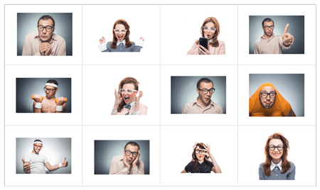 funny e-learning characters