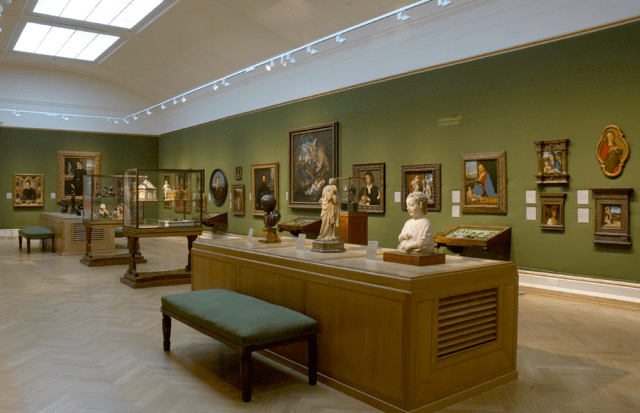 Italian Renaissance Gallery at the Ashmolean Museum