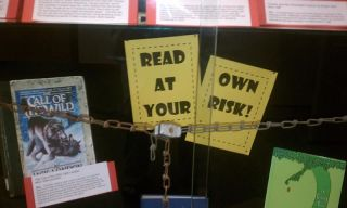locked up books