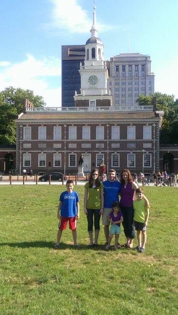 Family in Philadelphia 2014