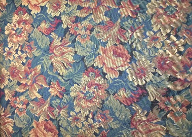 floral print from the old chair in Philippe's office
