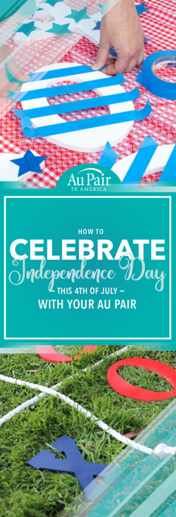 Get Festive for the Fourth with this Simple DIY Project | Au Pair in America
