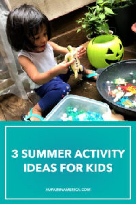3 Summer Activity Ideas for Children (and Their Au Pairs!)