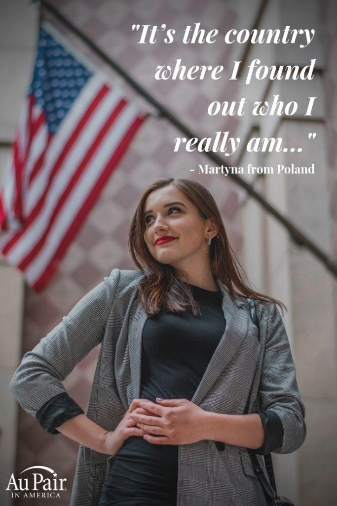 Au pair celebrating Fourth of July | Au Pair in America