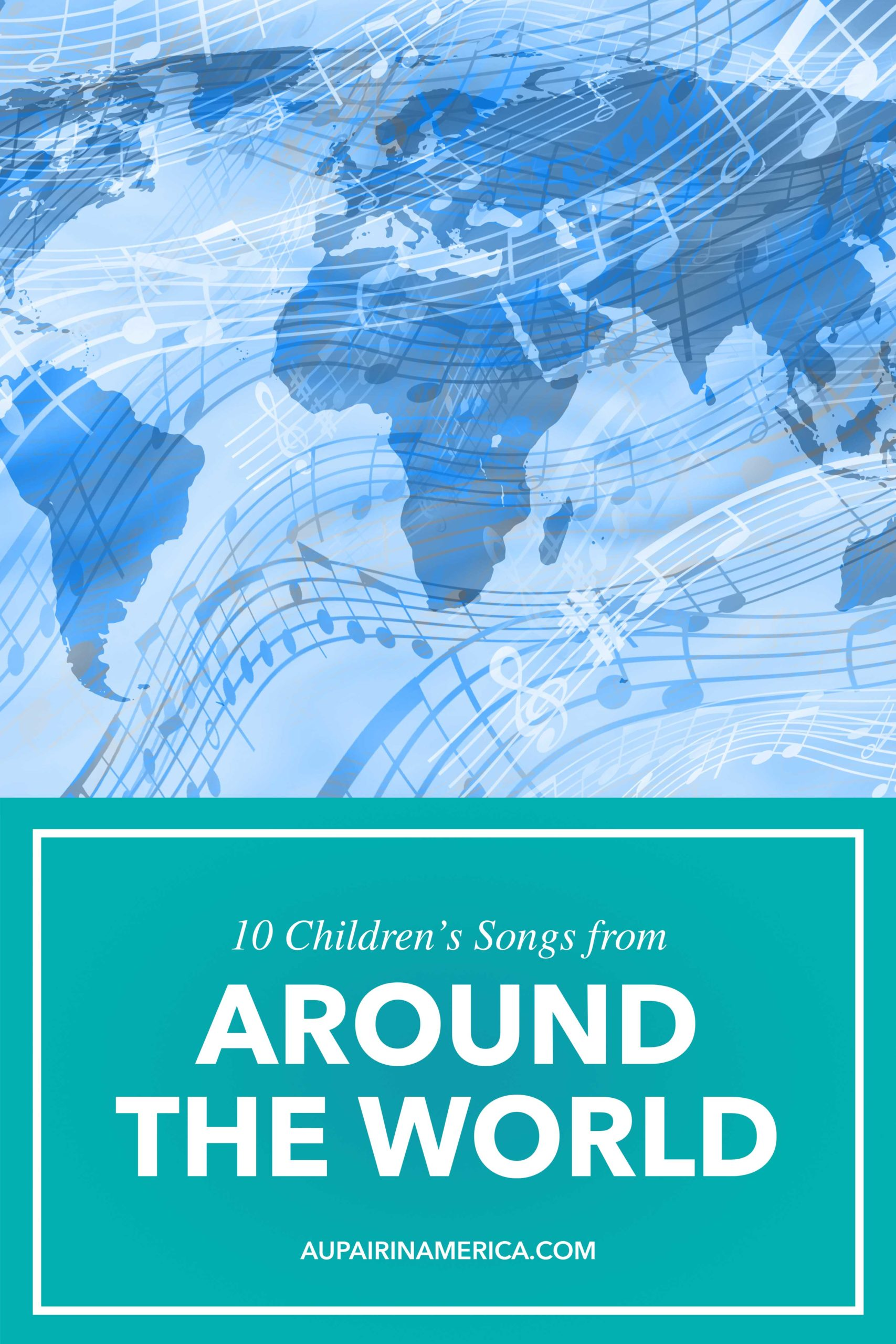 Give children a cultural education with these 10 children's songs from around the world!