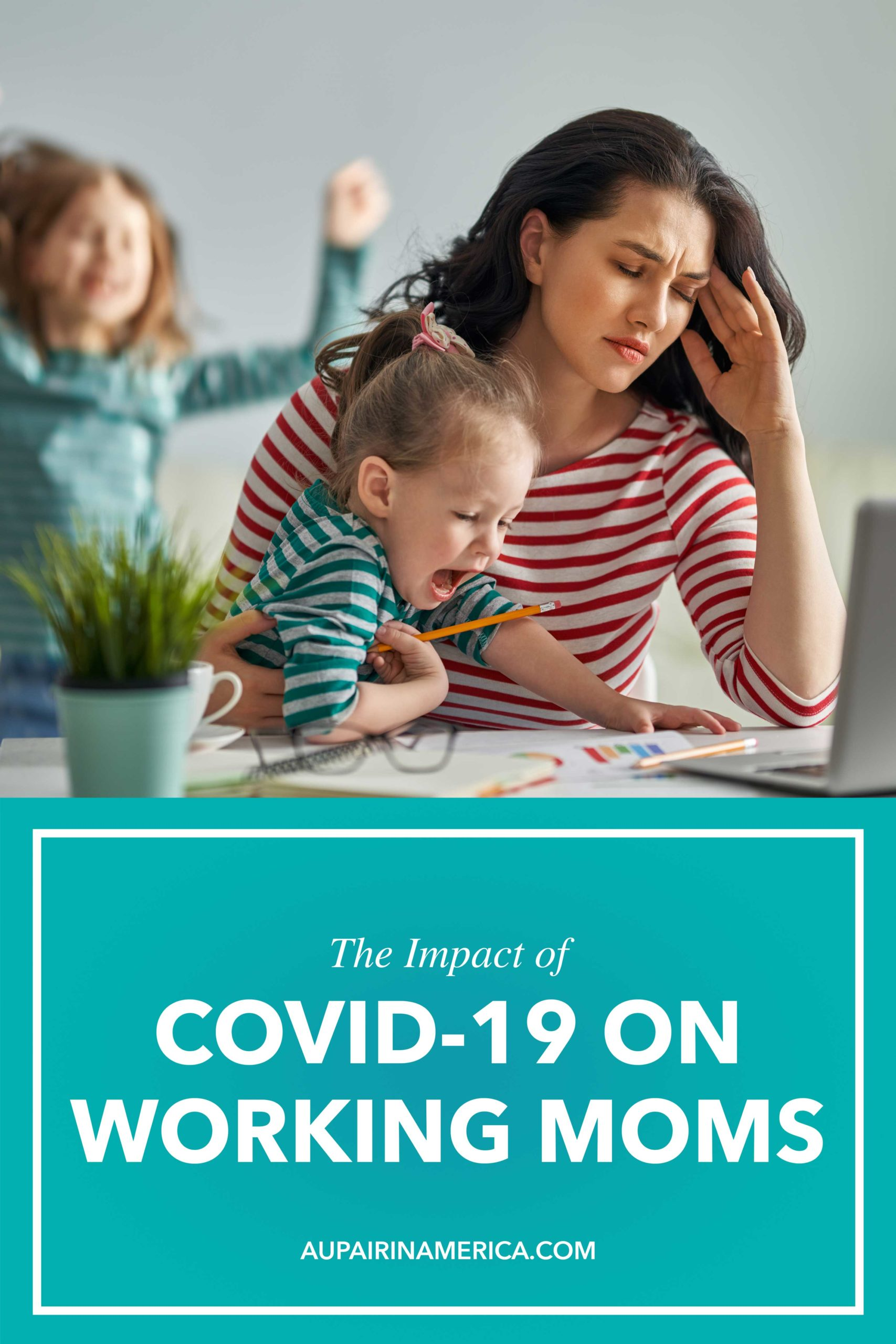 Working moms are feeling the impact of COVID-19. Learn more about how to support working parents during Coronavirus.