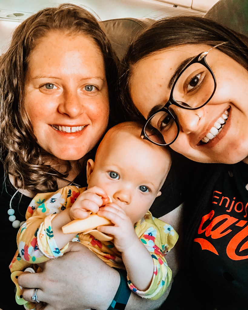 Au Pair Caroline with Host Mother and child in | Au Pair in America