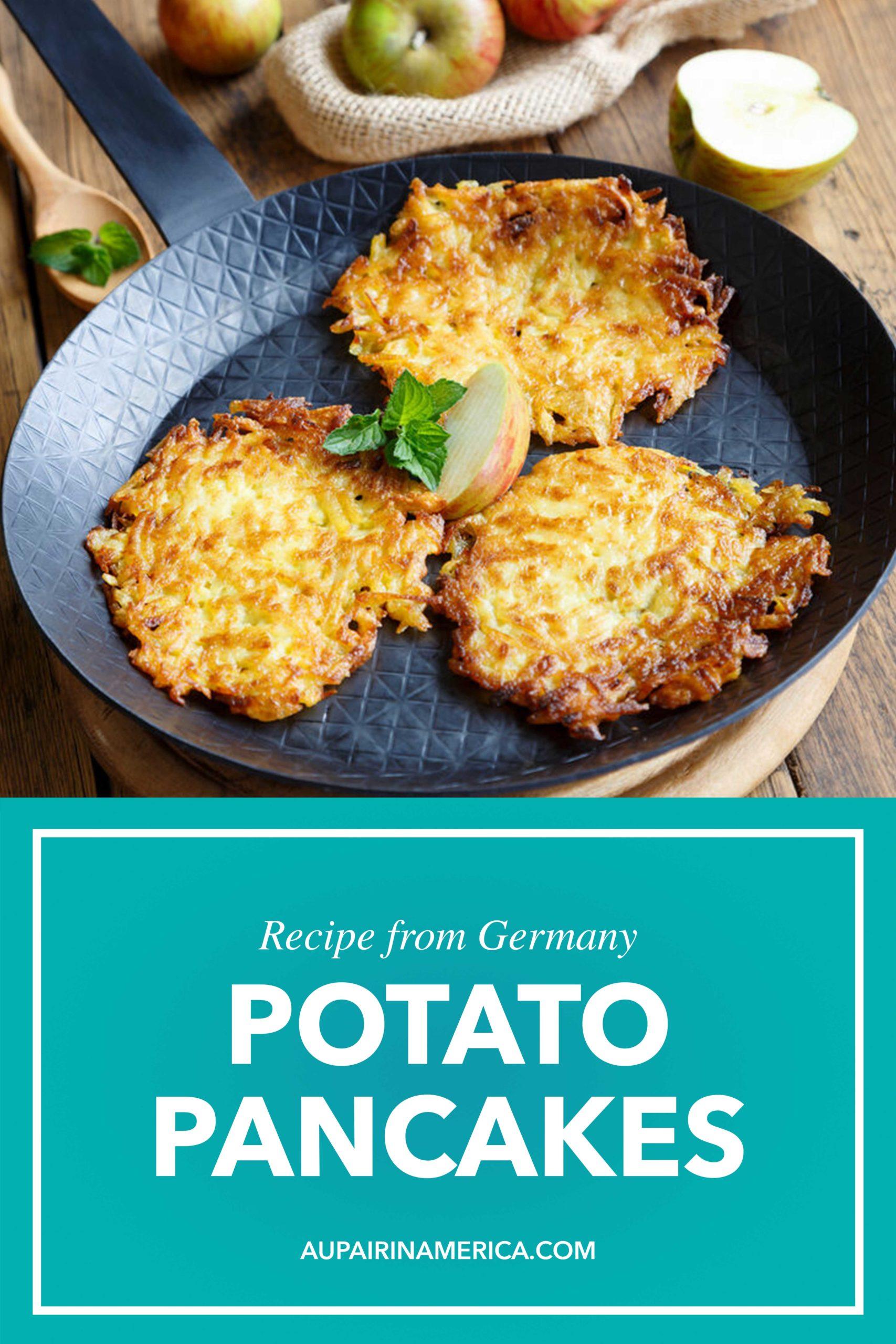 Kartoffelpuffer, German Potato Pancakes Recipe   Au Pair in America