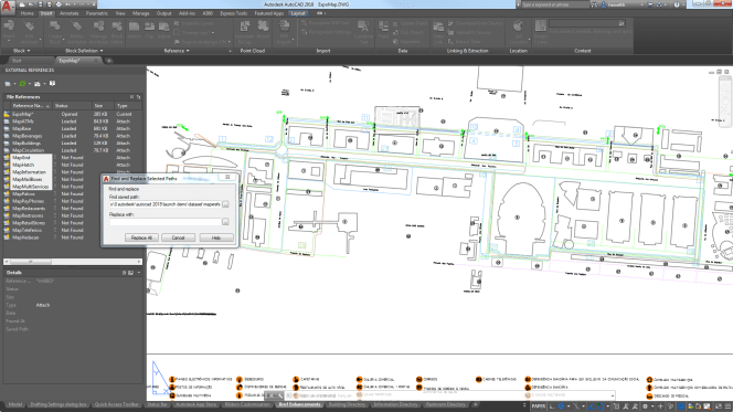 External Reference enhancements in AutoCAD 2018