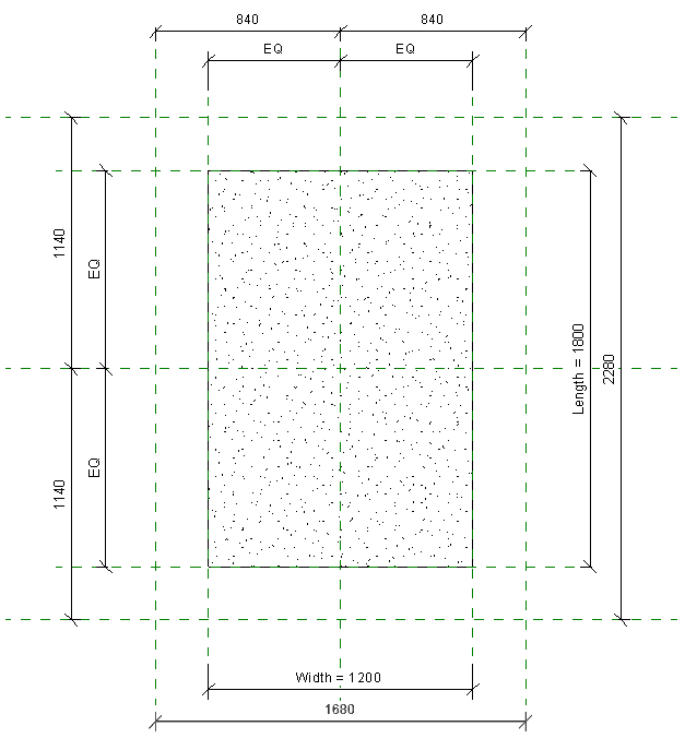 Add dimensions to each group of reference planes