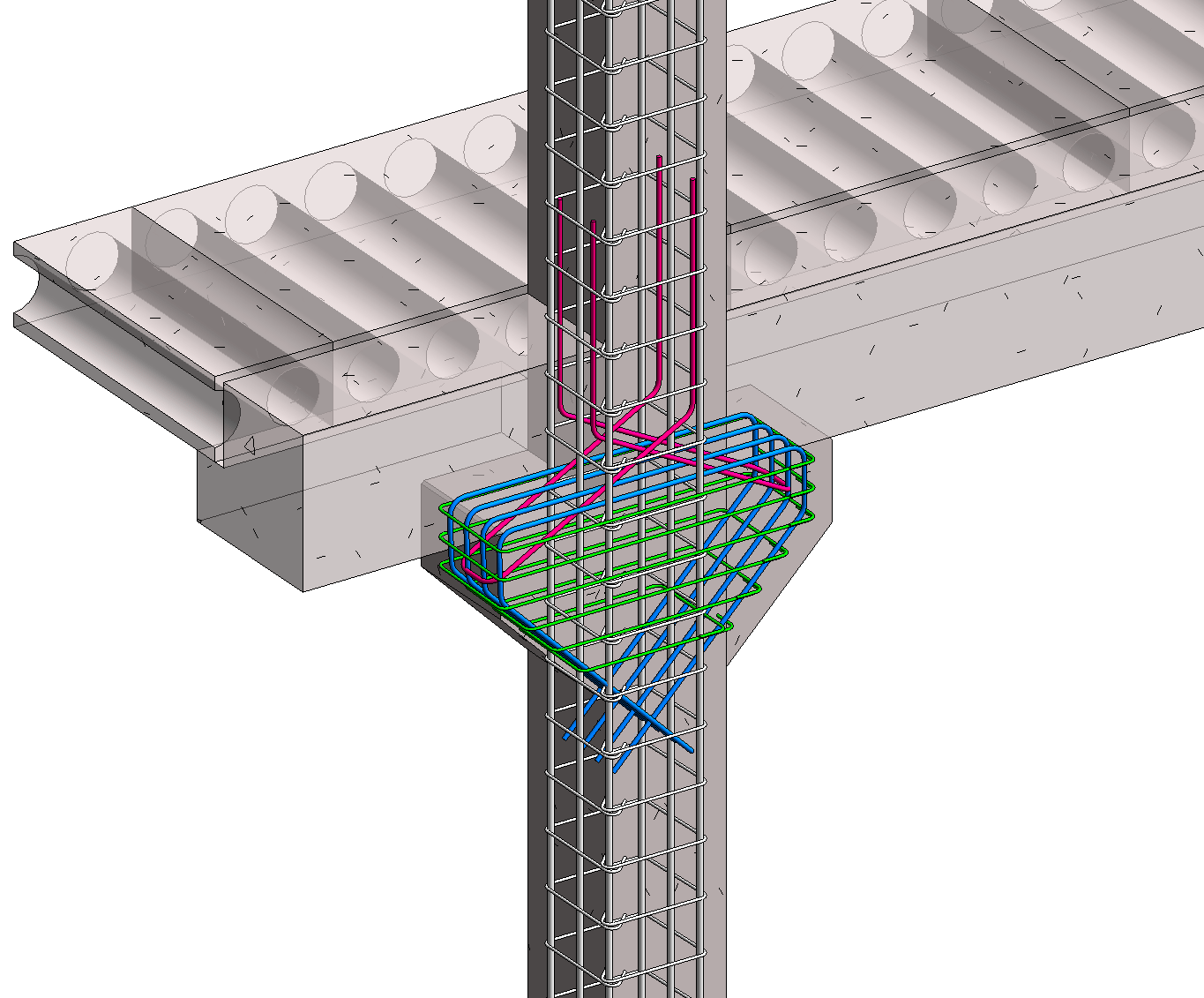 Precast Column with Corbels in Revit 05