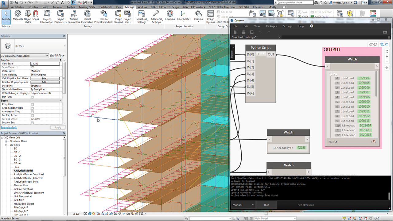 Dynamo for Structural Engineering