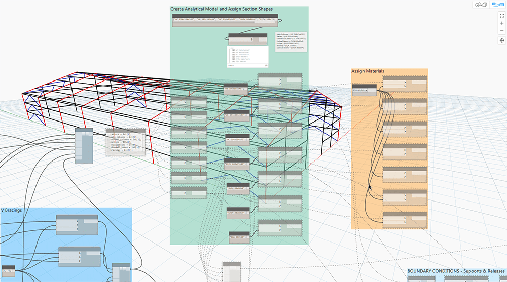AEC Collection Workflows: Dynamo for Structure – Shannon Smith LLC