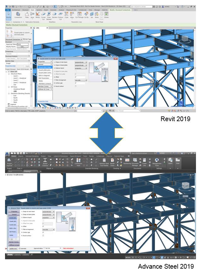 Interoperability-revit-advance-steel-2019