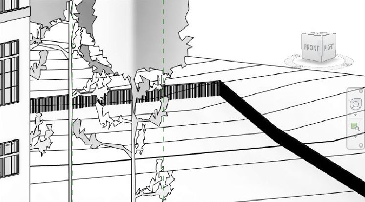 Ability to host railings on topography with Revit 2018