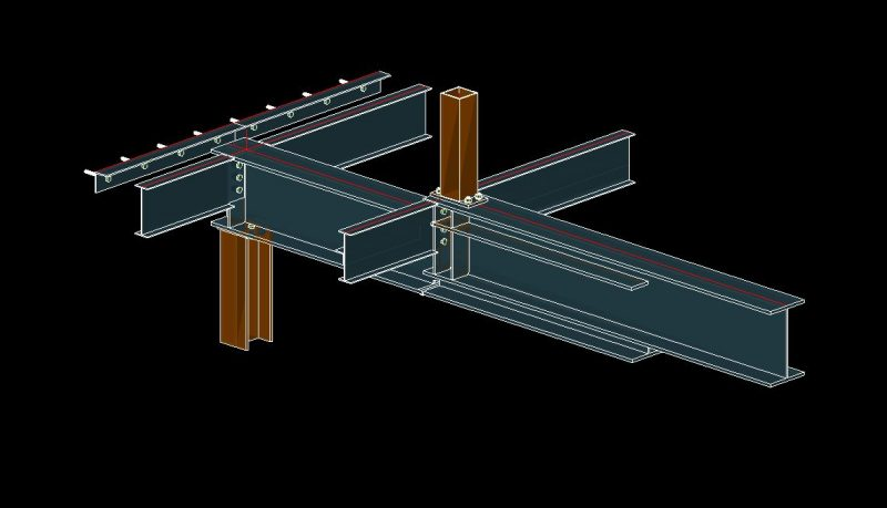 Kinked Beam in Autodesk Advance Steel