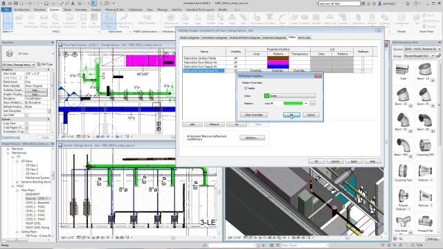 Fabrication solid fill in Revit 2018.2 update