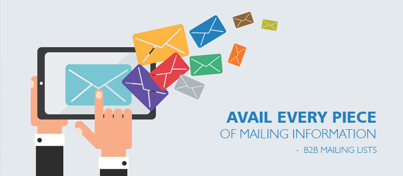 Avail Complete Mailing Information About Companies with the New B2B Mailing Lists