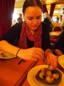 Snails in Paris? Why not!