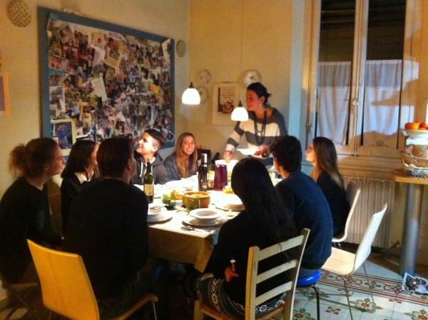 Host Family dinner
