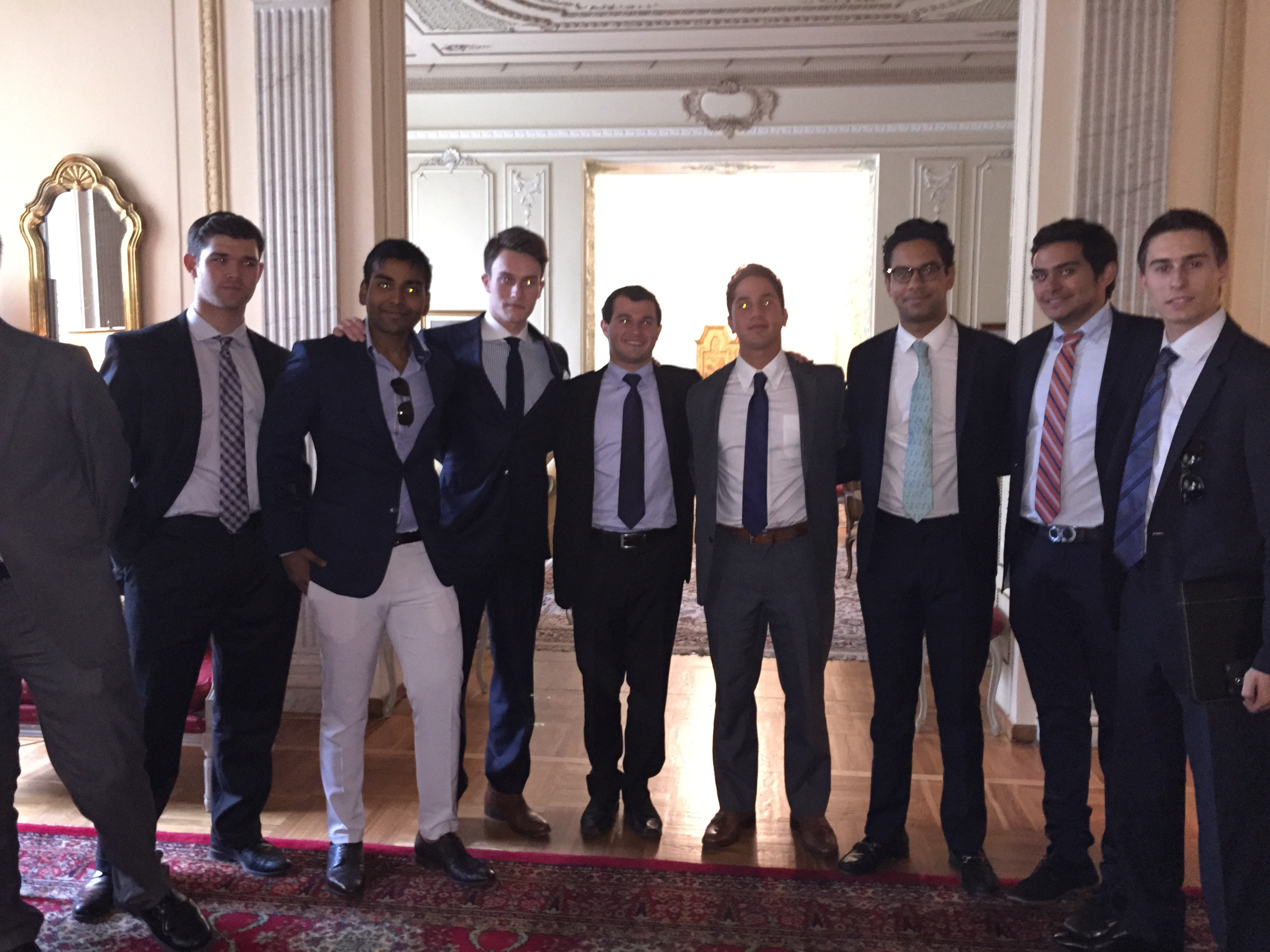 Boys of BRIC at the Consulate