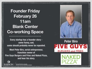 Founder Friday with Peter Biro