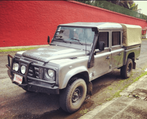My 100% Biodiesel Land Rover Defender 130