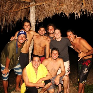 After surfing photo at Nicaragua