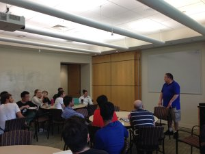Larry Coen at Summer Venture Program