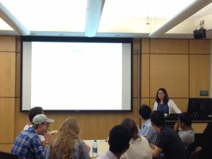 Michelle Hipwood at Summer Venture Program