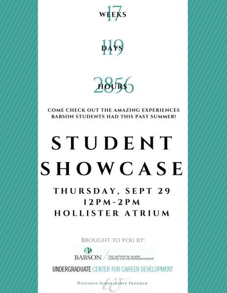 2016 Student Showcase