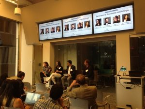 Augmented Reality Panel in Babson Boston Campus