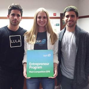 Lula at SoFi Entrepreneur Program Pitch Competition