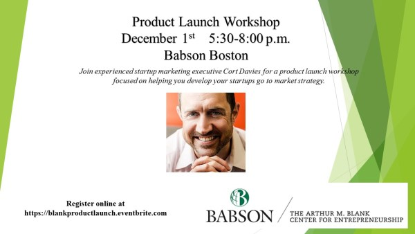 Blank in Boston: Product Launch Workshop