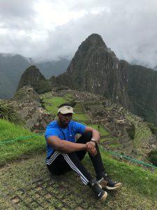 Temaz at Machu Picchu