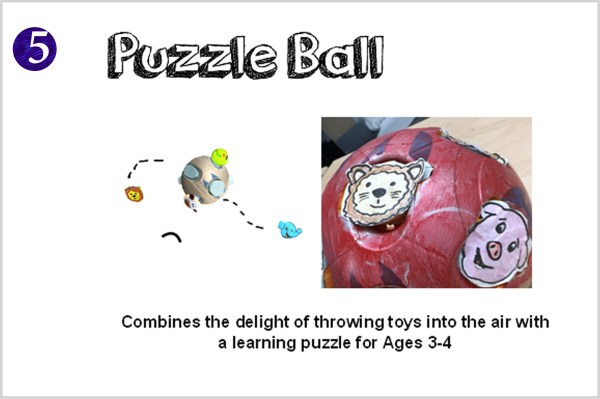 puzzle ball front