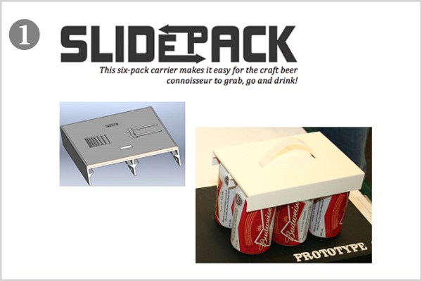 slide pack front