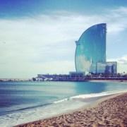 barcelona hotel beach spain