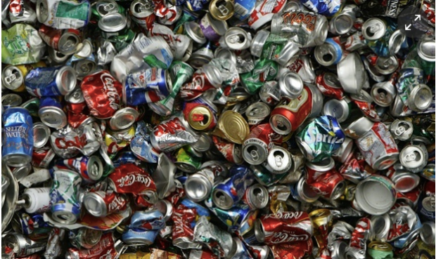 The company Novelis moved to working with recycled aluminum in a bid to find a more sustainable business model. Photograph: Justin Sullivan/Getty Images