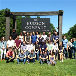Bard MBA visits The Hudson Company in Pine Plains, NY during the first 2015/16 Weekend Residency