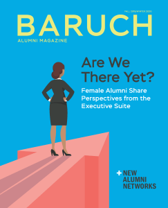 Baruch Magazine Fall 2019 Cover