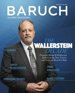 Baruch Magazine Cover