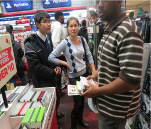 Customers were baffled that the gaming consoles they went to GameStop for on Thanksgiving would not be available. Photo by Terrance Ross