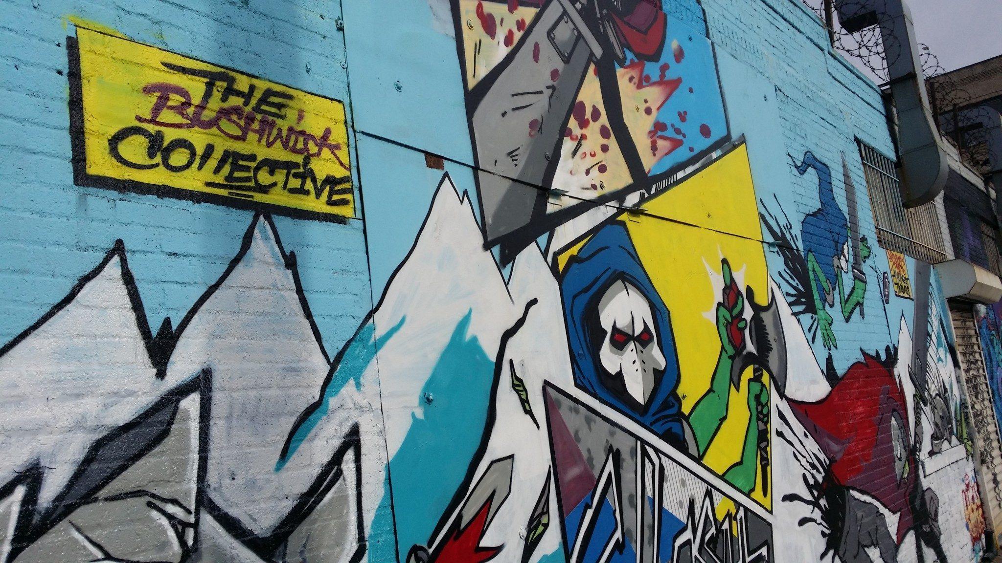 bushwick s street art dollars sense bushwick s street art